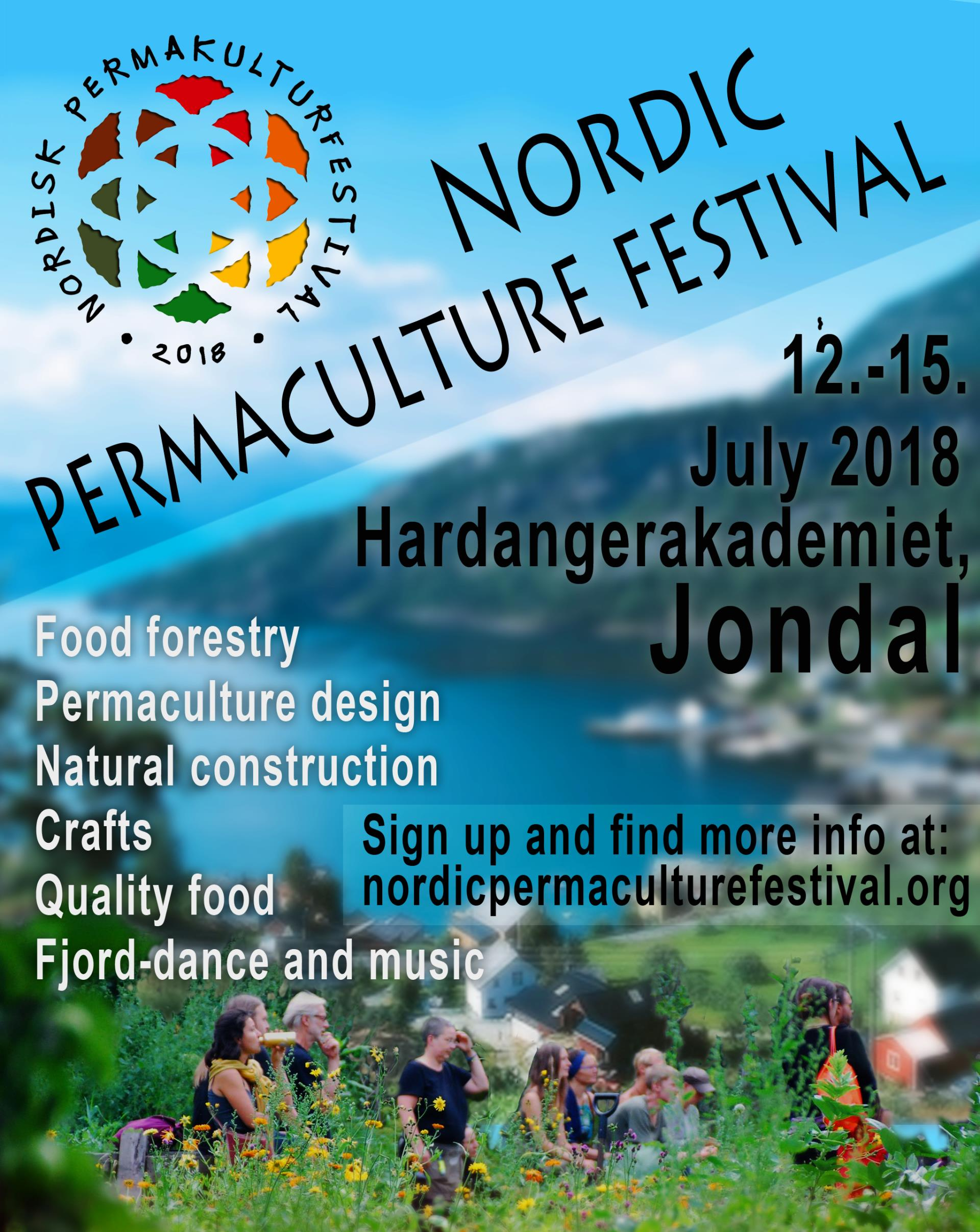 Nordic Permaculture Festival July 2018