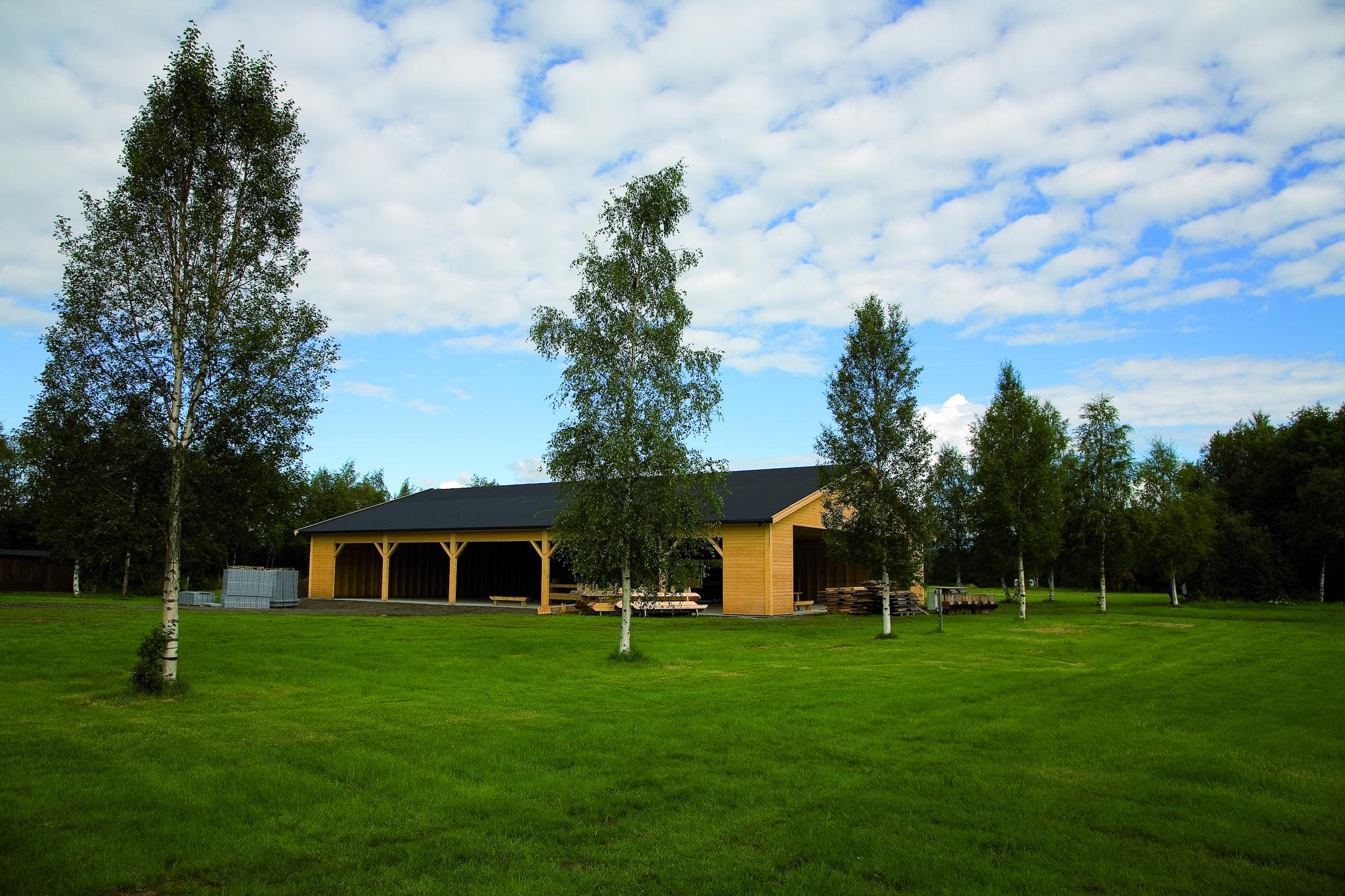 Paviljongen på Årsøya Fritidspark